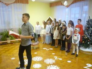 1 Выступление воспитанников воскресной школы